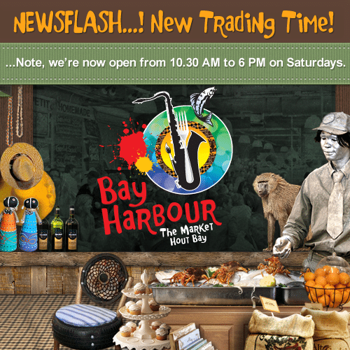 Bay Harbour Market hout bay trading times