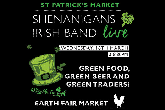 Earth Fair St Patrick's Market (16 March 2016)