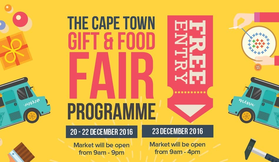 cape town gift food fair at castle