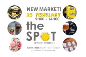 The SPOT Artisan Market @ Rust-en-Vrede Gallery Grounds, Durbanville