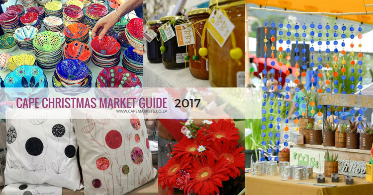 cape town christmas market guide 2017
