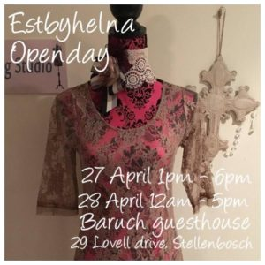 Estbythelna Open Day @ Baruch Guest House | Stellenbosch | Western Cape | South Africa