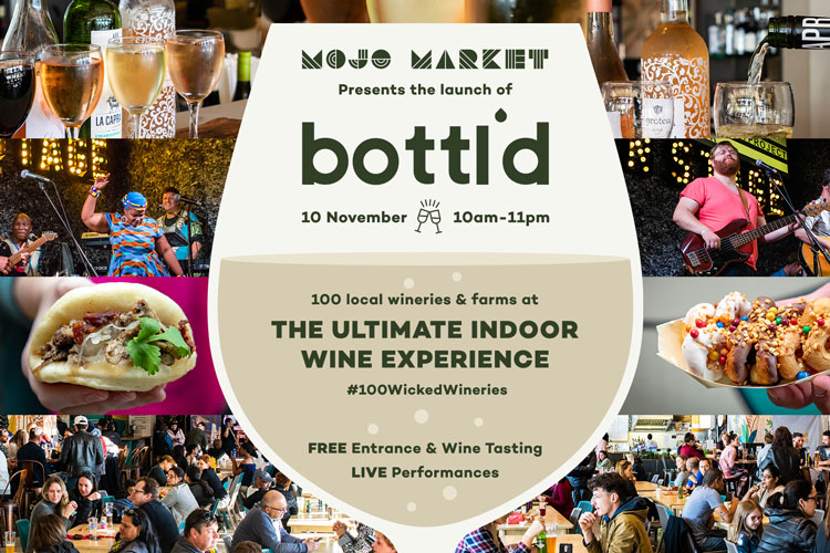 Mojo Market launches 'Bottl'd' – the ultimate indoor wine experience